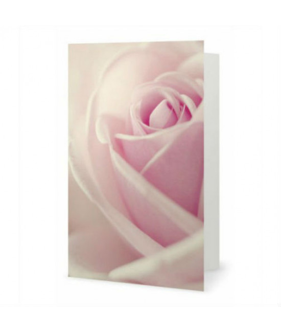 La Rose carte de souhaits