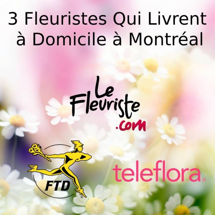 3 Fleuristes qui livrent à domicile à Montréal