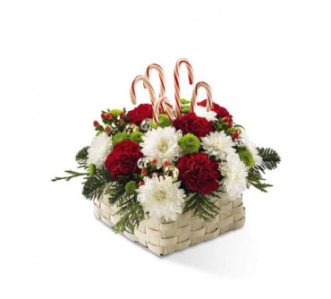 Le bouquet Couleurs de Noel